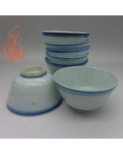 Vintage (ROC) Jingdezhen Shuang Quan 双圈 Cup B Quality 45cc