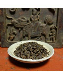 """1999 Menghai """"Zhang Xiang"""" 3rd Grade Fermented Puerh Tea 50g"""