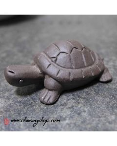 "Zisha Clay Tea Pet ""Little Turtle"""