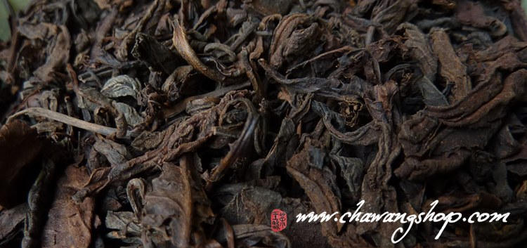 1992 CNNP Guangxi Large Leaves Liubao (Malaysia storage) 50g