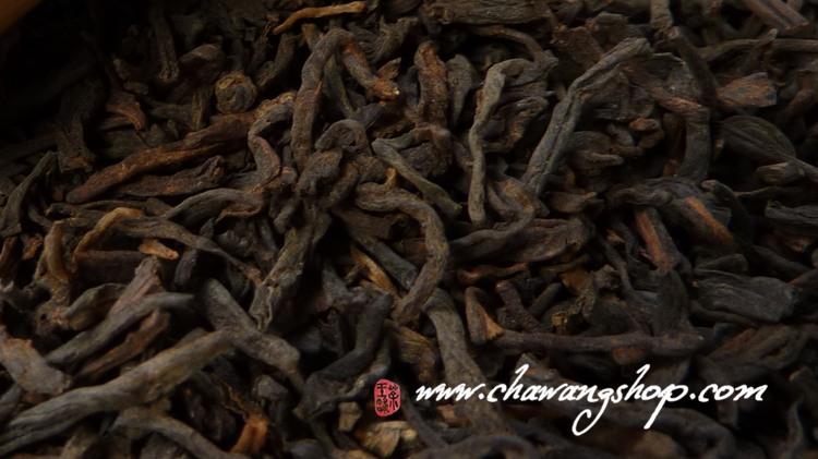 """2011 Wuzhou TF """"Three Cranes"""" Brand 1128 Liubao Tea 100g"""