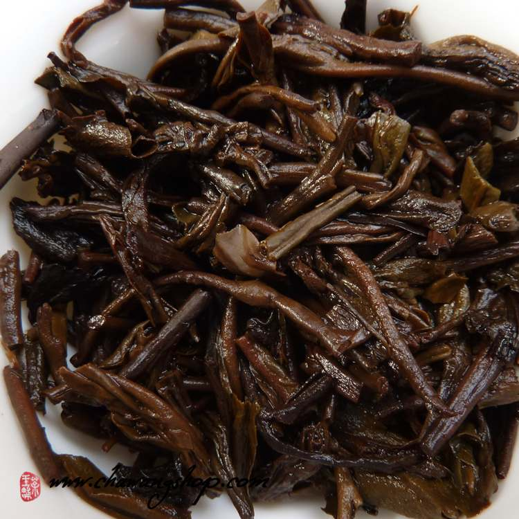 "2011 Wuzhou TF ""Three Cranes"" Brand 1128 Liubao Tea 100g"