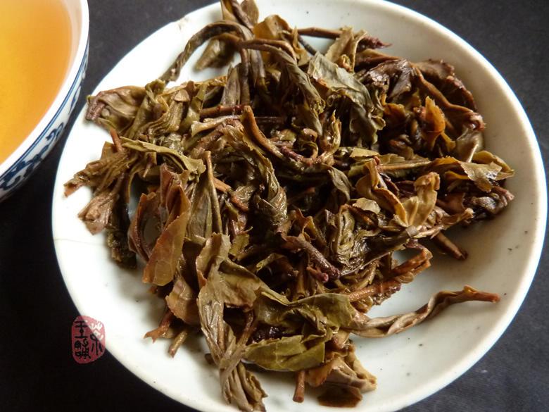 2003 Jia Ji Jinggu Bai Long Organic Raw Puerh Cake