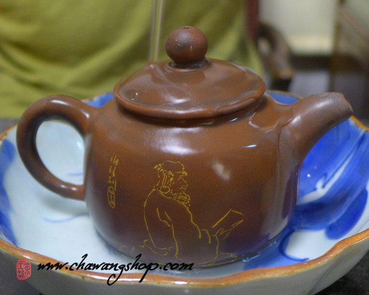"""Nixing Teapot """"Boddhidharma""""170cc"""