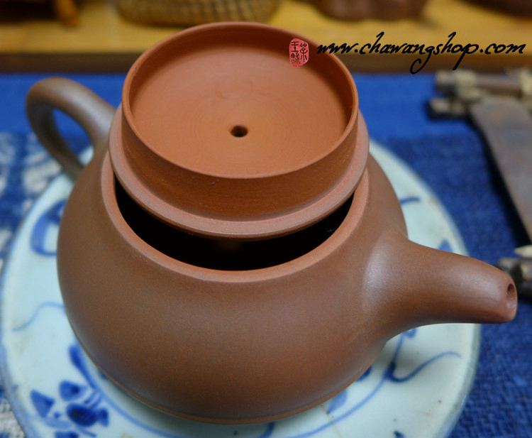 Nixing Teapot Xian Yuan Brown Clay 180cc
