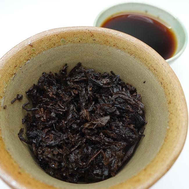2015 Mingshenghao Menghai Brick Tea