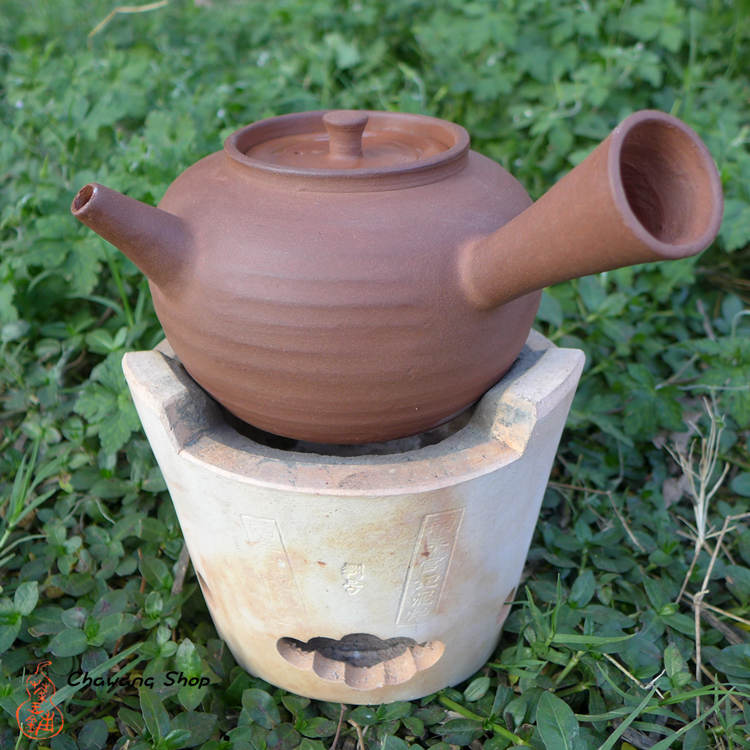 Chaozhou Red Clay Pot 650ml