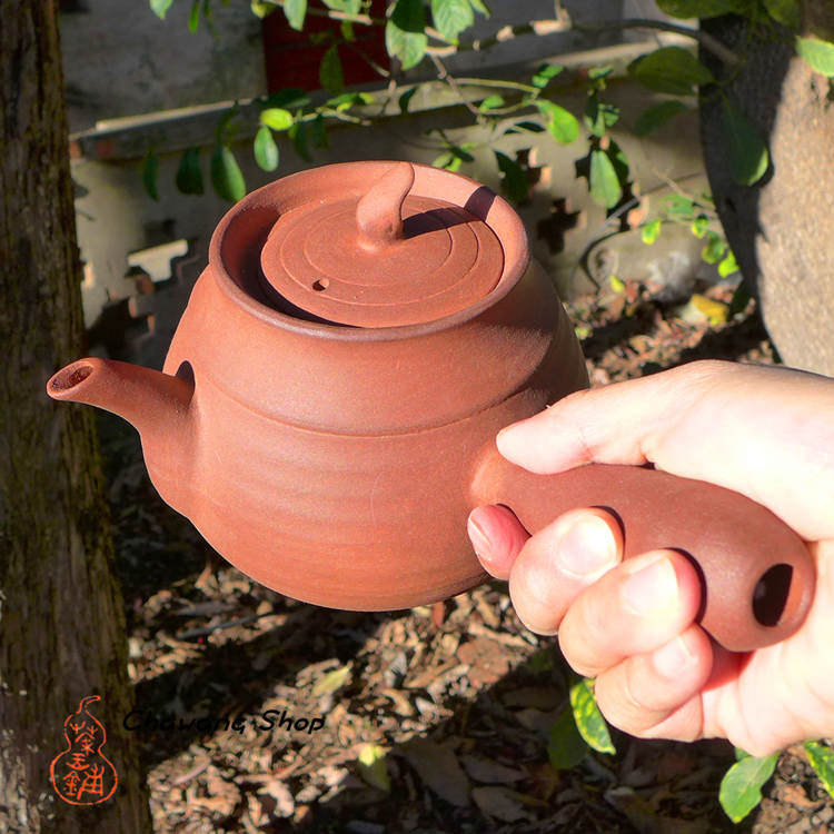 "Chaozhou Red Clay Pot ""Pear"" 650ml"