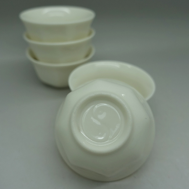 Chaozhou Off-white Gongfu Tea Cups
