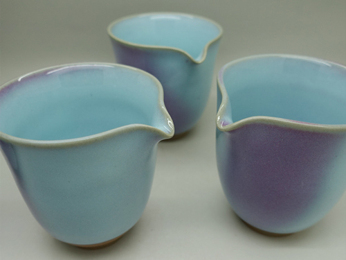 Huaning Pottery Tea Pitcher C