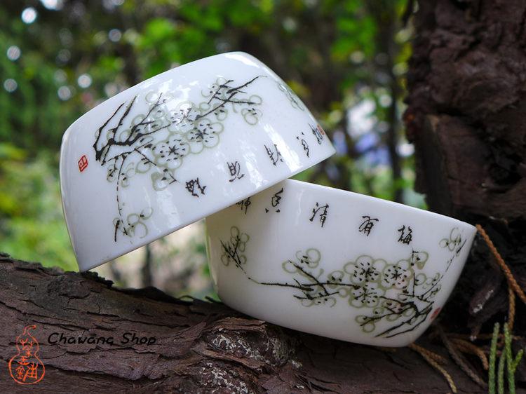 Plum Blossom Bucket Cup
