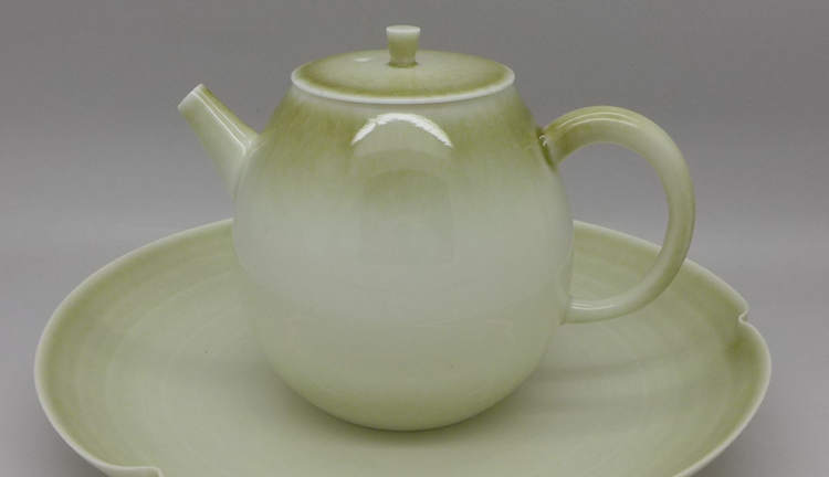 Dehua Blue Ash Clay Teapot 190ml