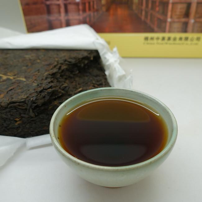 """2016 (2019) China Tea Brand """"Mu Jiao Chen Yun"""" Third Grade Liubao Tea"""