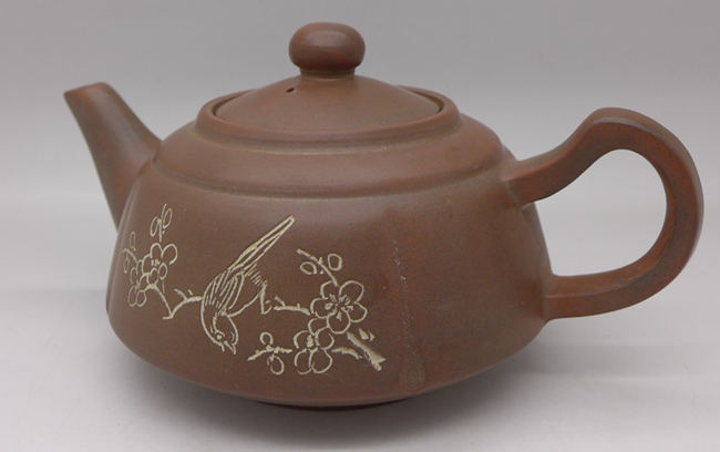 "Nixing Teapot ""Bird and flower 1"" 200ml"