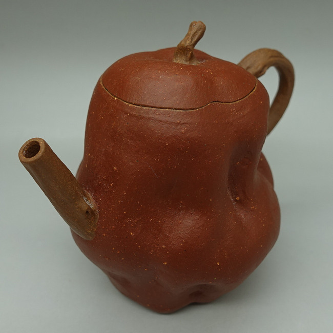 "Duanni painted with Zhuni ""Jujube"" Teapot 100ml"