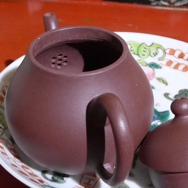Zi Ni Pear Shaped Teapot 90ml