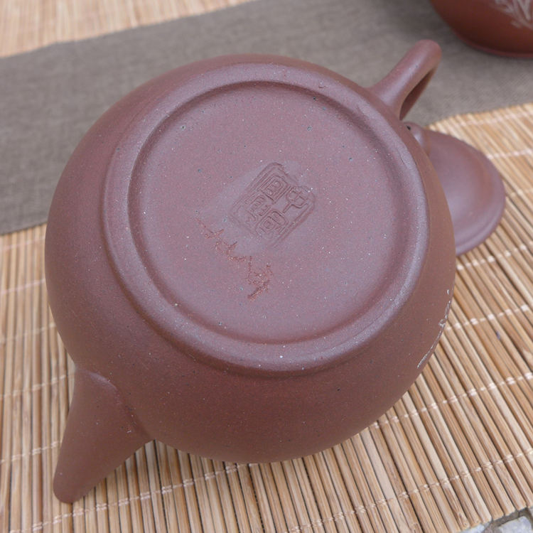 "1990s Zini Shuiping Pot 110ml ""Plum Blossoms"""