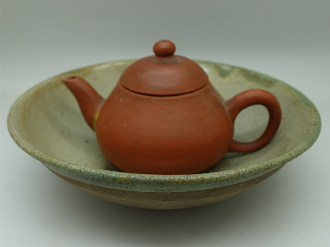Lufeng Pottery Tea Boat