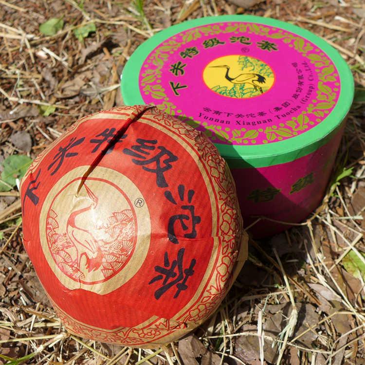 Xiaguan special grade tuo tea